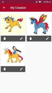 Unicorn coloring book for kids - Kids Game screenshot 4