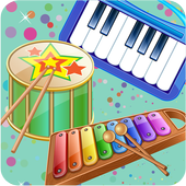 Kids Music Instruments Sounds icon