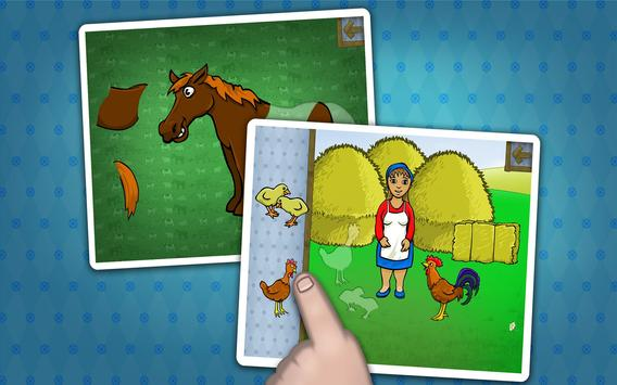 Kids farm animals puzzle screenshot 6