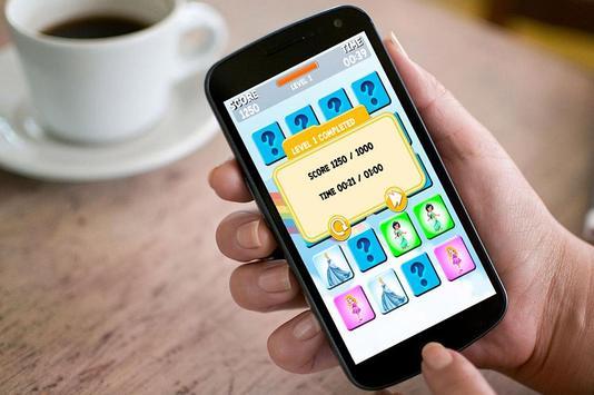 Princess Memory Games for Kids apk screenshot