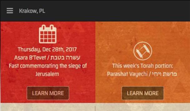 It's Shabbat Time! screenshot 2