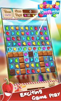 Pepper Panic : Match 3 screenshot 1