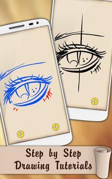 Easy Draw Eyes screenshot 5