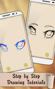 Easy Draw Eyes screenshot 1