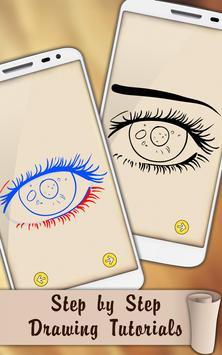 Easy Draw Eyes screenshot 3