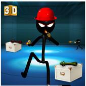 Stickman Adventure 3D icon