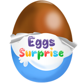 Surprise Eggs - Kids Game icon