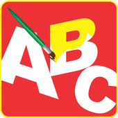 Paint AB Educational Kids Game icon