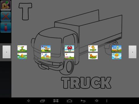 Paint AB Educational Kids Game apk screenshot