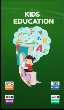 Kids Learning : ALPHABET, LETTERS, COLOR, SHAPES poster