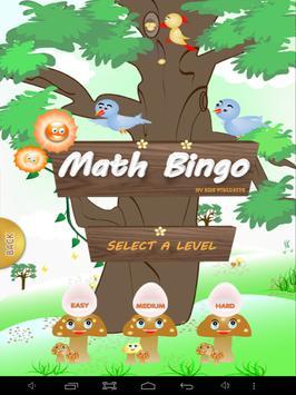 Math Bingo screenshot 7