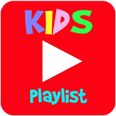 Kids Videos Playlist for YouTube icon
