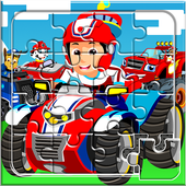 Kids Paw Puzzle Car 2 icon