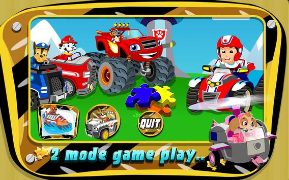 Kids Paw Puzzle Car 2 poster