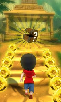 Kids Temple Train Run poster