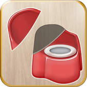 Preschool Kids Educational Puzzle - Toilet Games icon