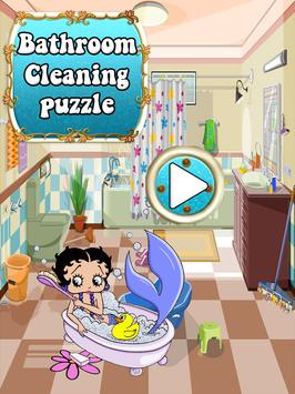 Preschool Kids Educational Puzzle - Toilet Games poster