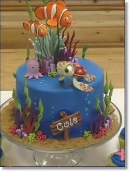 Kids Birthday Cakes Design Screenshot 5