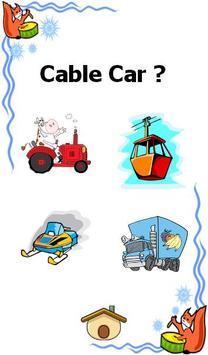 vehicle and car games for kids apk screenshot