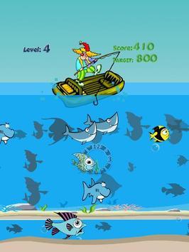 Winter fishing games apk screenshot