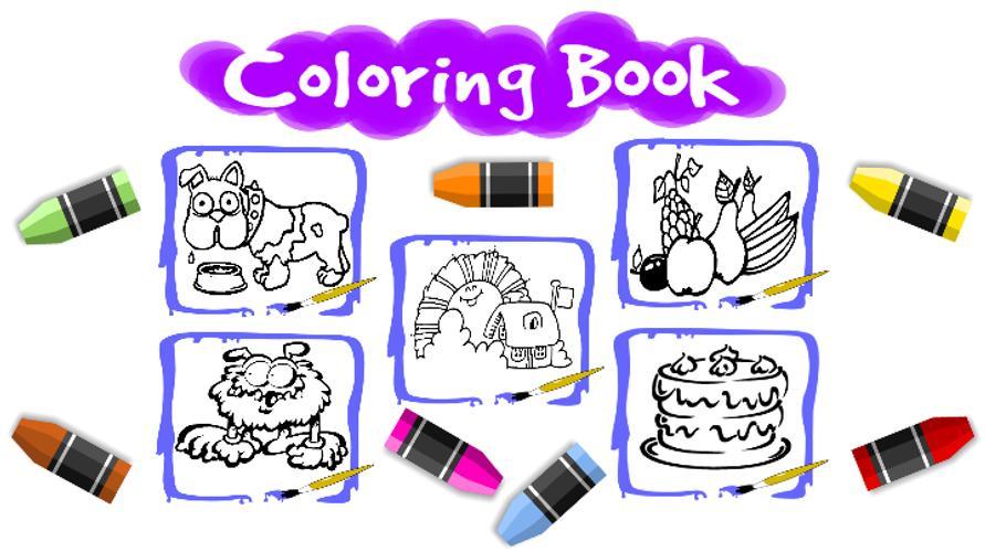 Libros para colorear Niños Descarga APK - Gratis Educativos Juego ...