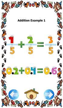 Fractions to decimals games screenshot 2