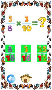 Fractions to decimals games screenshot 4