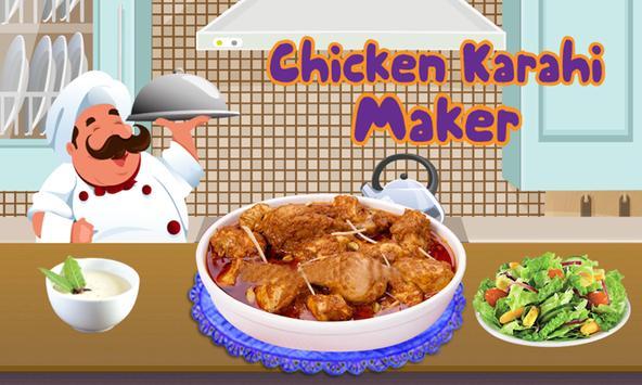 Chicken Karahi Recipe - Cooking poster