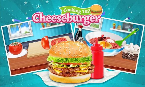Cheeseburger: Food Chef Game poster