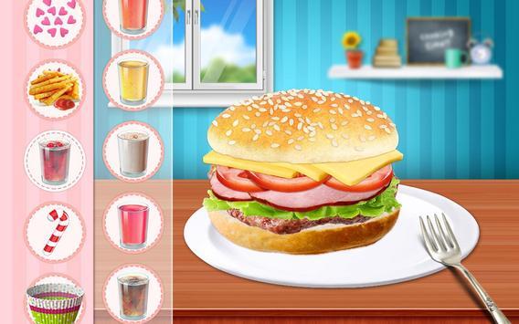 Cheeseburger: Food Chef Game screenshot 11