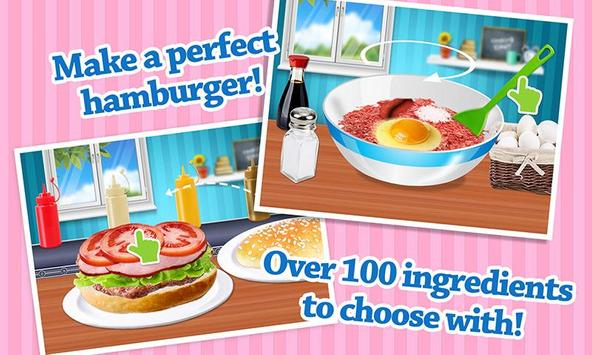 Cheeseburger: Food Chef Game screenshot 1