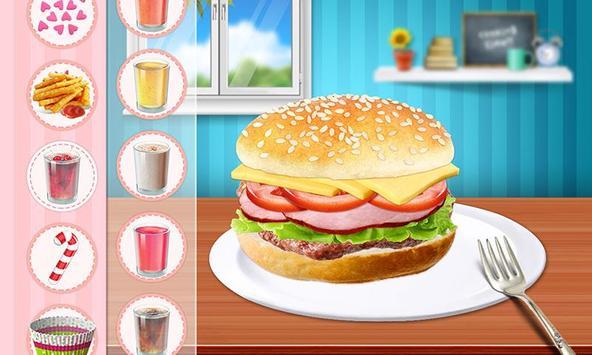 Cheeseburger: Food Chef Game screenshot 3