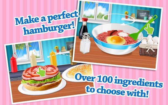 Cheeseburger: Food Chef Game screenshot 9