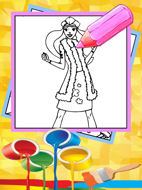 Coloring games totally girls spies APK Download - Free Educational ...
