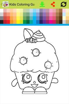 Kids Coloring Game For Shopkin Apk Screenshot