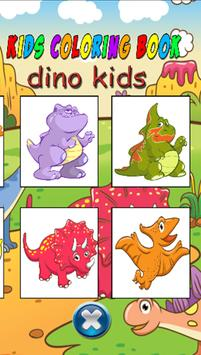Dino Kids Coloring Book Apk Screenshot