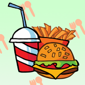 Kids Coloring Food icon