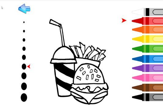 Kids Coloring Food screenshot 3