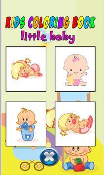 Kids color book little baby screenshot 25