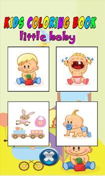 Kids color book little baby screenshot 27
