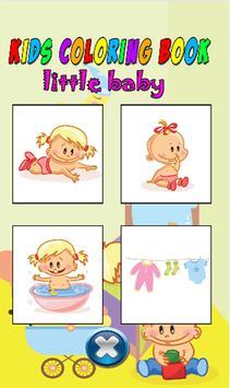 Kids color book little baby screenshot 2