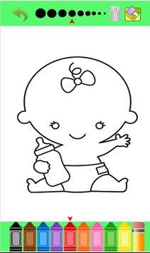 Kids color book little baby screenshot 31