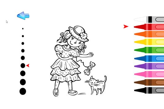 Kids Coloring Princess screenshot 3