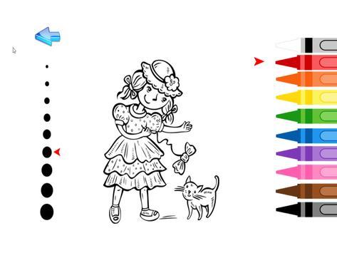 Kids Coloring Princess screenshot 8