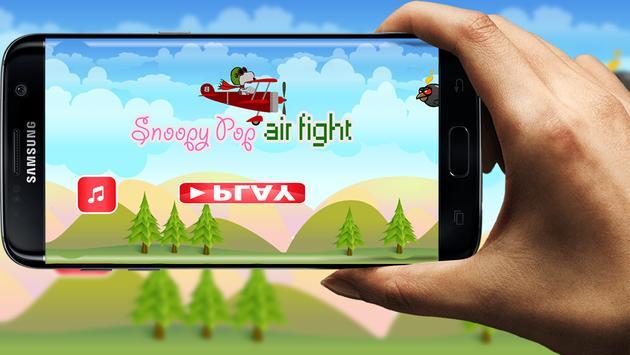 snoopy air fight apk screenshot