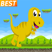 kids dinosaur free game icon