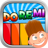 Child game/Baby Kids piano&drums icon