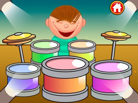 Baby Kids piano&drums screenshot 1