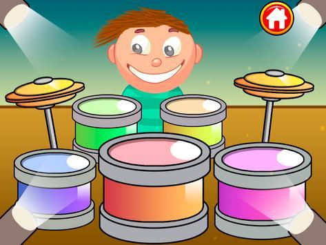 Baby Kids piano&drums screenshot 8