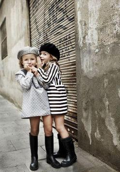 kids fashion style poster